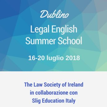 corso estivo legal English Dublino